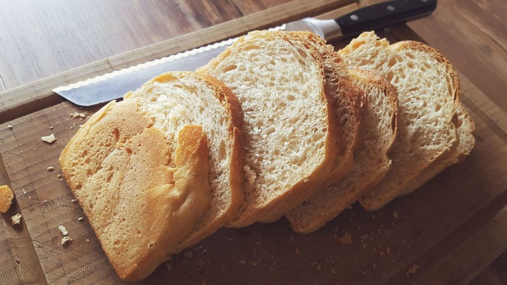 Baking Bread Breadmaking Breakfast Carbohydrates Close-up Cutting Cutting Board Day Eat Eating Food Food And Drink Fresh Freshness Indoors  Kitchen Knife Lifestyles No People Roasted Toast Toasted Bread Wheat Wheat Bread