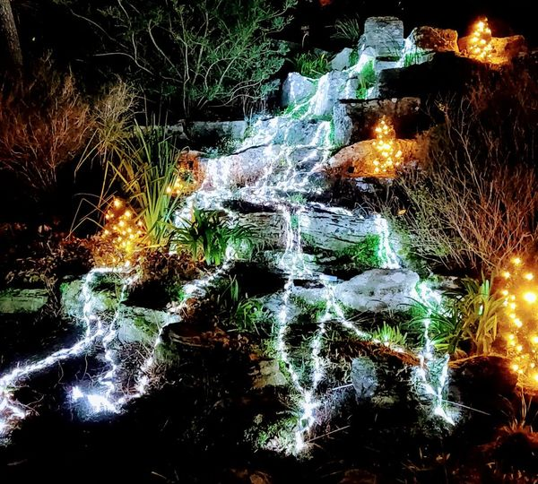 Light falls Photowalktheworld Waterfall Lightshow Waterfall Photography Lights Nature Water Illuminated Backgrounds Close-up Falling Water Long Exposure Flowing Light Trail High Street Power In Nature Stream Flowing Water