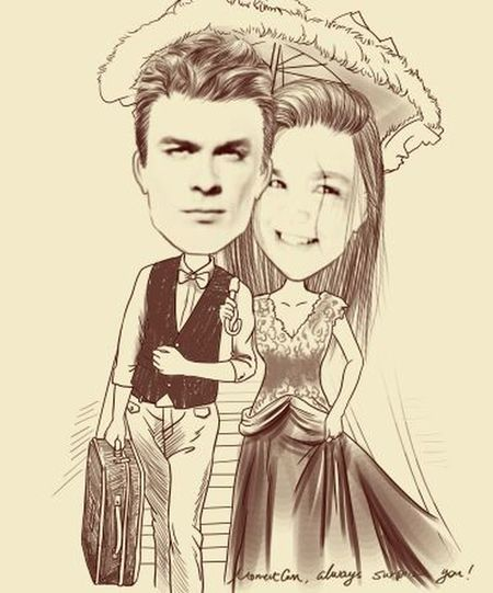 me and Ian Somerhalder... kkk