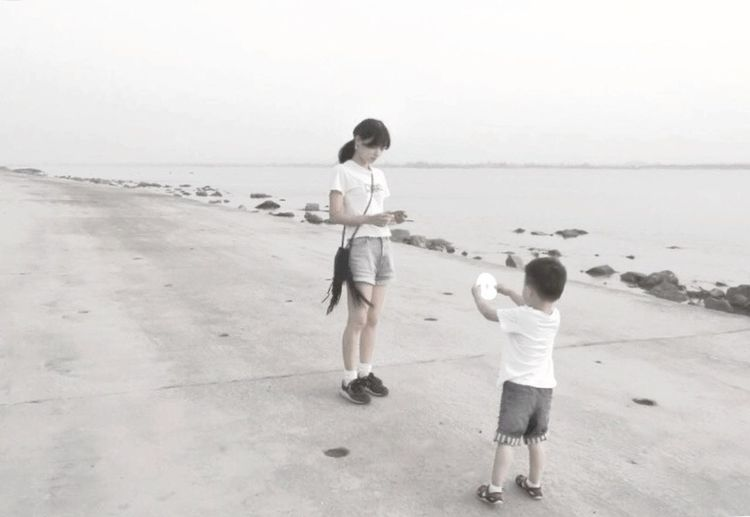 Childhood Children Child Happiness Mom And Son Mom Love Blackandwhite Black And White Black & White