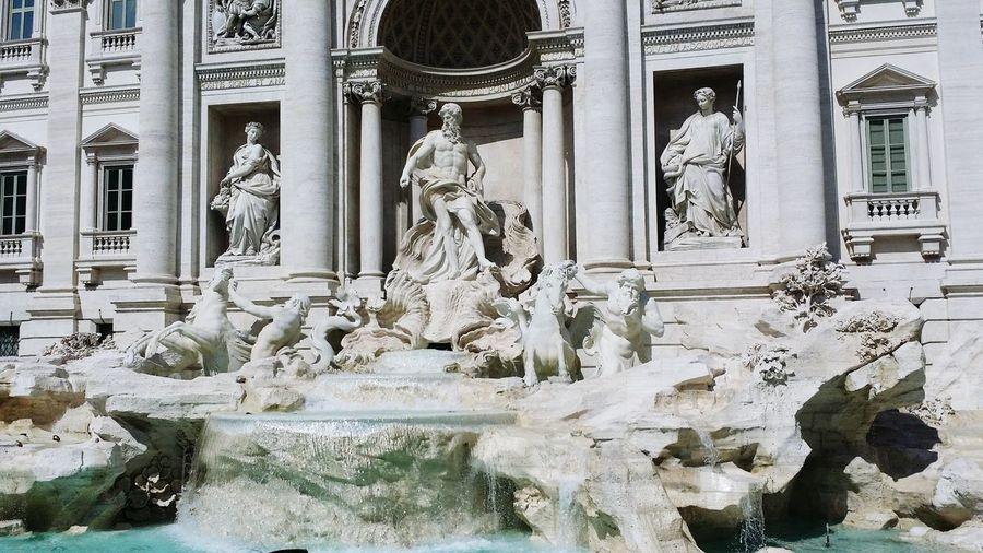 Fontana Di Trevi First Eyeem Photo
