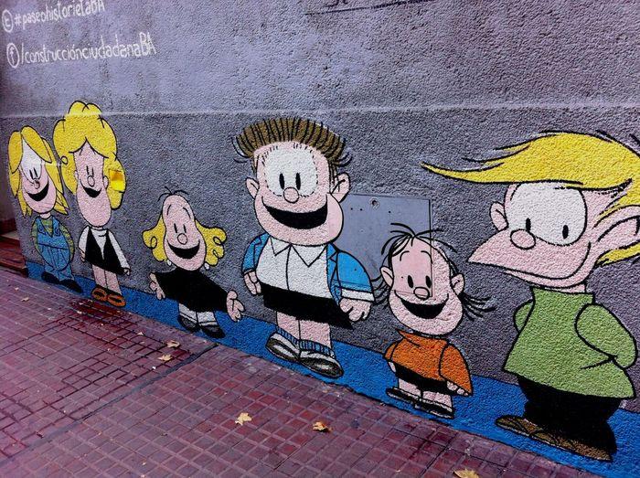Buenos Aires San Telmo Mafalda Quino