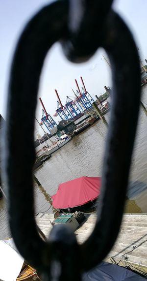 Crane Harbour Harbour View Hamburg Hamburg Harbour Hamburg Hamburgmeineperle Crane Crane - Construction Machinery