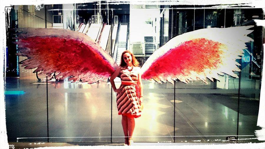 Angel wings Portrait Angel