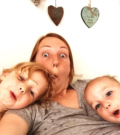 RePicture Motherhood Pulling Faces  Fun Kids Making Memories! :) Being Silly Son Daughter Mummy Love