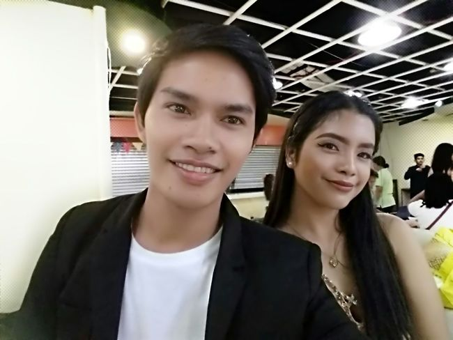Selfie Two People Young Adult Looking At Camera Smiling
