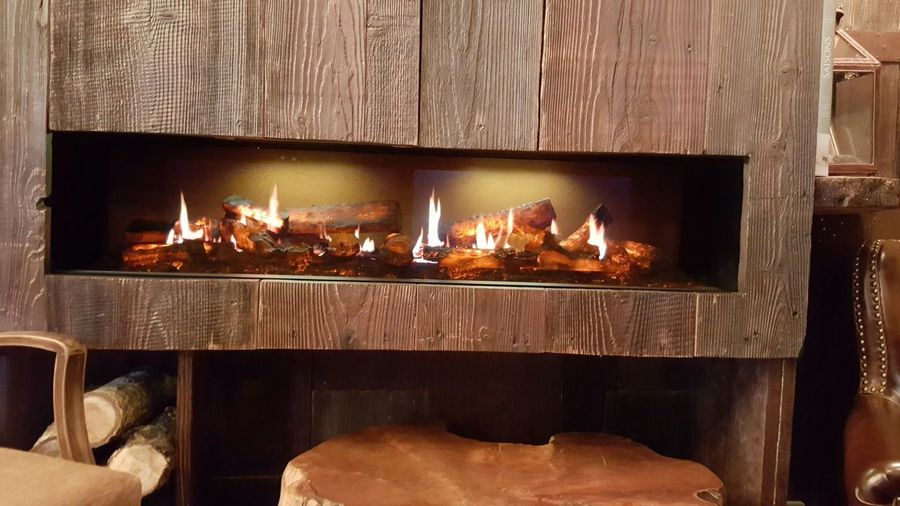 Fireplace Wood Indoors