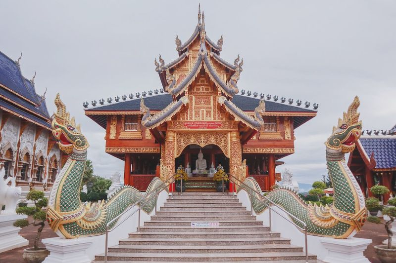 Temple พุทธศาสนา วัด Temple - Building TempleThailand Buddha Buddha Statue Chiangmai Chiang Mai Thailand Arts Culture And Entertainment Gold History Palace Religion Sky