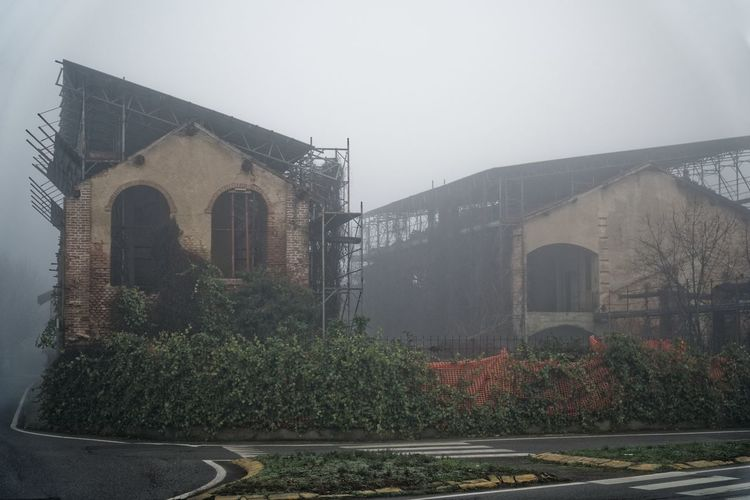 Construction Foggy Weather Road Architecture Building Building Exterior Built Structure Day Fogg Foggy Foggy Day Foggy Landscape Foggy Morning Growth House Mist Mistery Mountain Nature No People Outdoors Plant Sky Tree Window
