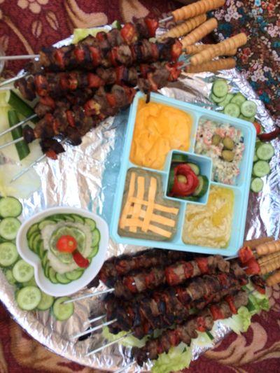 گل عام وانتم بخير ❤️ عيدكم_مبارك أضحى_مبارك Food And Drink Meal Vegetable Meat Still Life