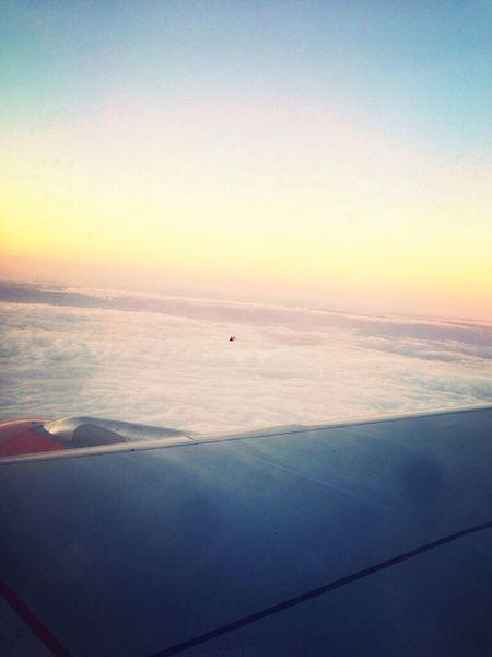 Planer dans les nuages , retour d'Italie !