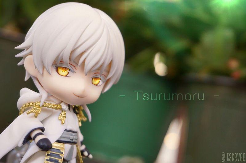 Tsuru Tsuru 💕 Toukenranbu TsurumaruKuninaga Nendoroid ねんどろいど Art Anime Check This Out Enjoying Life Taking Photos KAWAII Hello World Sword White Color