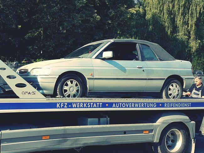 Land Vehicle Mode Of Transport Transportation Car Side View Vehicle Rusty Damaged Run-down Junkyard Bye Bye Baby Rust In Peace Old Abandoned Good Bye My Friend