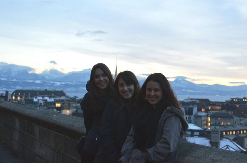 In Lausanne with the girls // Lausanne Girls Visiting Switzerland