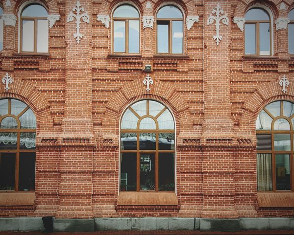 Streetphotography Street Photography Wall Window Windows Redbrick Kazan казань вокзал