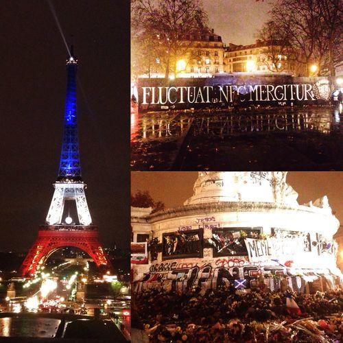 Prayforparis🇫🇷 Parisestunefête Mêmepaspeur ✊🏻🇫🇷💕