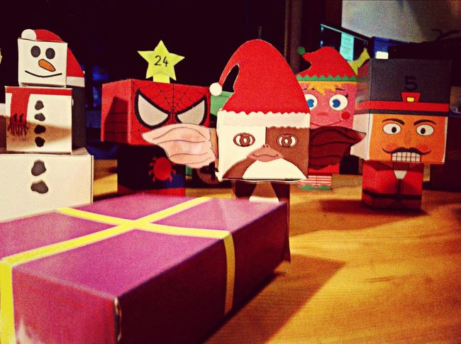 Weinachten Adventskalender Berlin The Xmas Army assembles... Handmade Advent calendar for a kickass little chick!