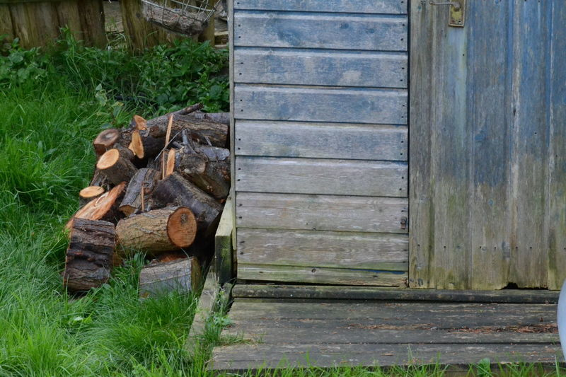 Close-up Day Fuel And Power Generation Grass Heap Large Group Of Objects Log No People Outdoors Stack Textured  Wood Wood - Material Woodpile Cabin And Log My Back Garden Ready For Winter