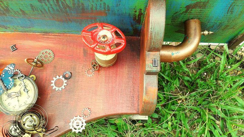 Art Artshow Doghairstudio Steampunk Recycle Repurposed
