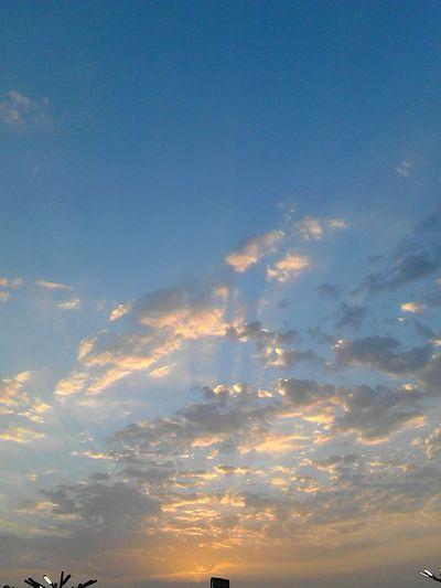 Atardecer maracaibero Hello World Venezuela Sky First Eyeem Photo Sunset Sun Atardecer AndroidPhotography