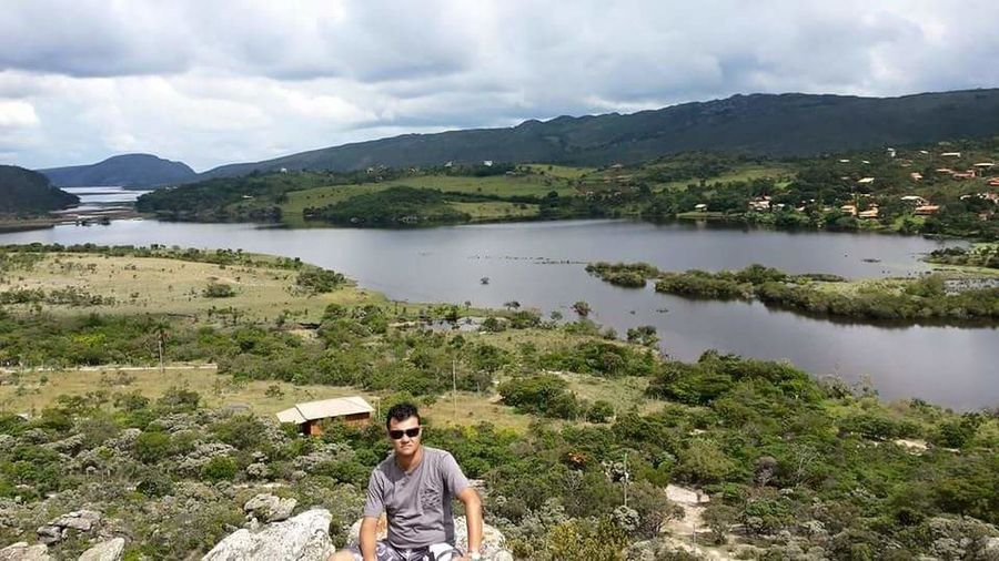 Lapinha da Serra/MG Lake One Person Outdoors Forest Nature Water Mountain People Day Young Adult Adult