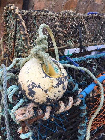 Abundance Buoy Damaged Day Dirty Field Fisher Fisherboat Fisherman Fishermen Boat Fishermen's Life Fishernet Heap Marine Messy Nature Net Non-urban Scene Obsolete Outdoors Sea And Sky