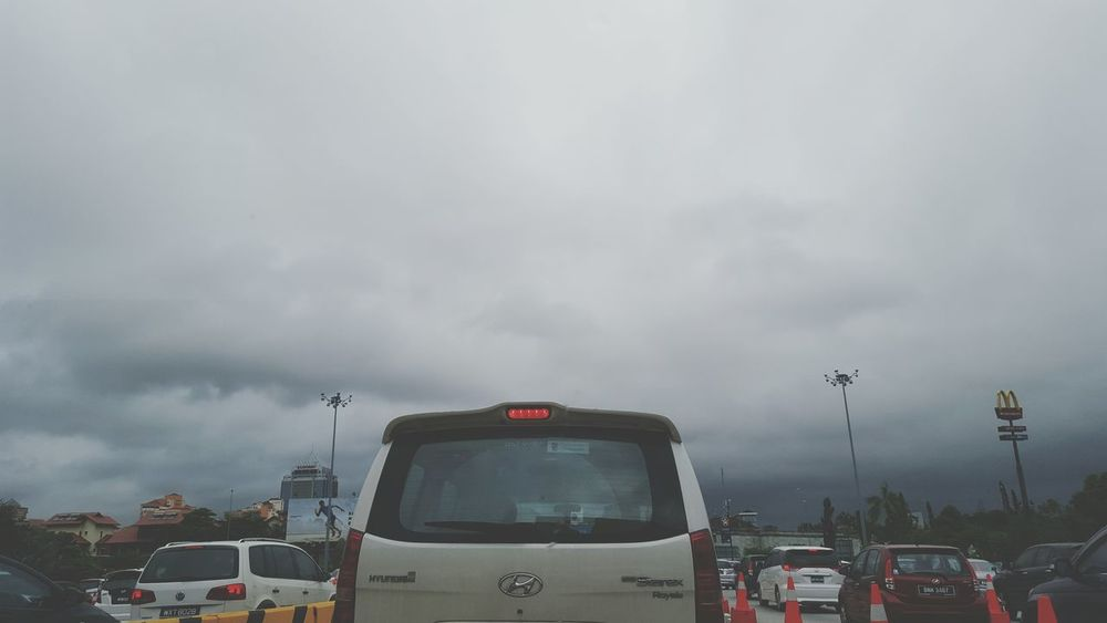 Darksky Raining Season Traffic Jam Kualalumpur Check This Out EyeEm Clouds
