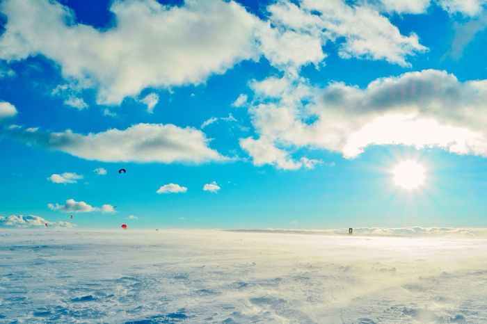 美ヶ原高原でスノーシュー Landscape Snow Hiking Joyful Happyholidays Sun