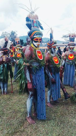 Warriors from the Southern Highlands Province celebrating PNGs 41st Independence. Bilas Traditional Costume Tradition Culture This Is Me This Is US This Is PNG Goroka Show Cultural Heritage PnGandProud Pacific Islander Papua New Guinea Hello World Melanesia