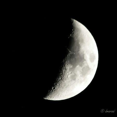 Blackandwhite Moon Nikon
