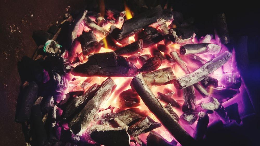 Coal Burning Coals Fire WOW First Eyeem Photo