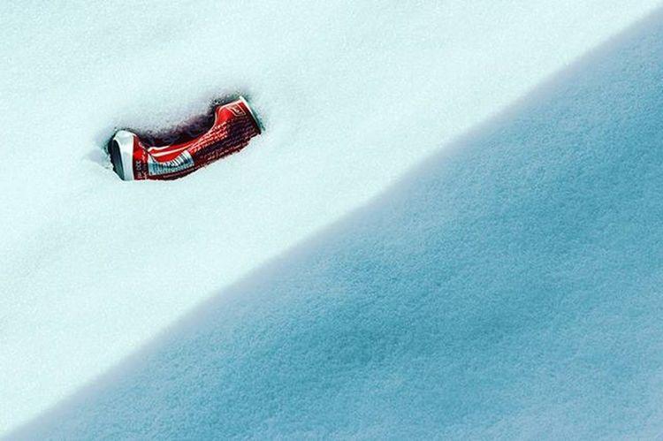 . نیمه پنهان در برف نهان... Hidden half. . . Hidden Half Snow Shadow Human Coca Drinks Recycle Garbage Minimal Minimalism Photography Photooftheday Cold Nature Kindness . رد_پای_انسان زباله زیبایی انسان نامهربان عکس عکاسی طبیعت برف زمستان مینیمال تهرانگردی