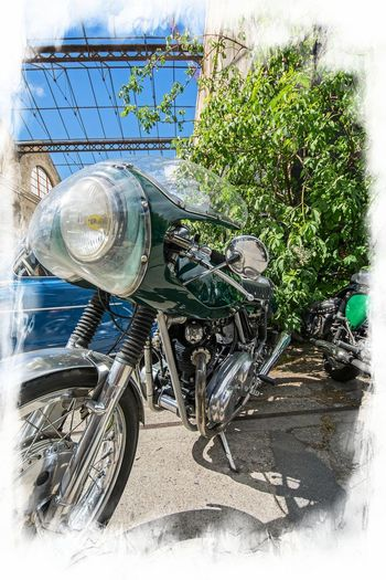 Motorcycle Norton Close-up Commando Day Land Vehicle Mode Of Transport Motorbike No People Outdoors Plant Transportation