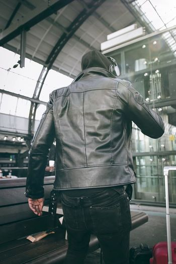 Photography EyeEm Best Shots Fashion Streetphotography City Men Business Finance And Industry Rear View Walking City Life Built Structure Architecture Casual Clothing City Street Pedestrian