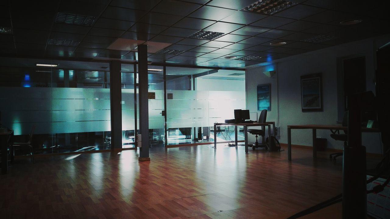 indoors, empty, flooring, chair, hardwood floor, absence, no people, illuminated, architecture, day