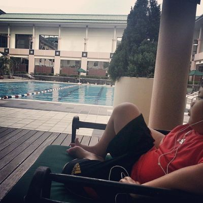 Post swim chillax wit darth vader. Swimtime Move JPMCFitness Brunei Andrography InstaBruDroid