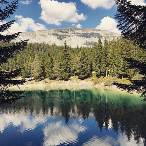 Caumasee - Switzerland Mountain Lake Nature Travel Traveling Love Sightseeing Sexy♡ Caumasee