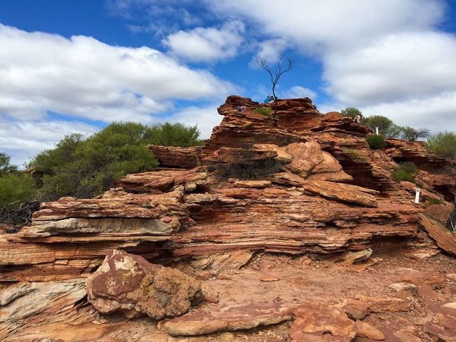 Sandstone Cliffs Landscape_Collection The Great Outdoors With Adobe Connected With Nature Sandstone Sandstone Cliffs Geological Nature Photography Land Nature Kalbarri Australia Western Australia Landscape Nature's Design Hiking Travel Photography Red Rock Rock Red Stone Rocky