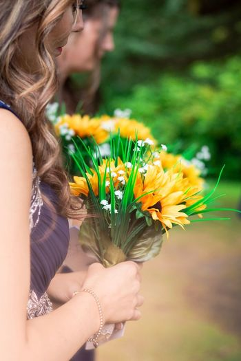 Elegant Princess Jewels Flora Backup Supporters Sisterhood Caring Holding Thedress Occasion Happiness Innocence Dreamlike Looking Away Leaves Girl Bridesmaid Flower Flowering Plant Plant Women One Person Freshness Nature Focus On Foreground