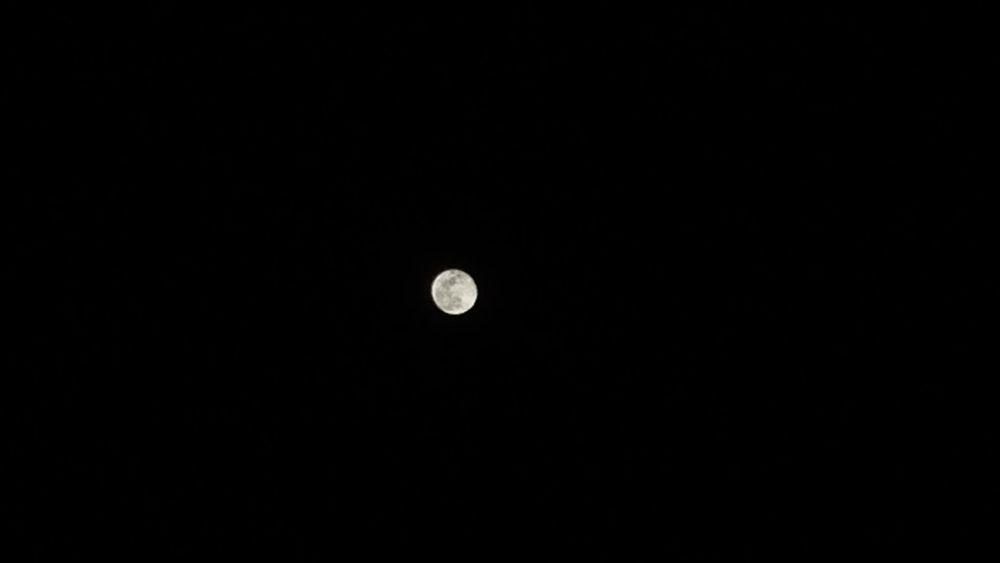 有多久…沒有看看那輪明月…… Moon Silence Missing You