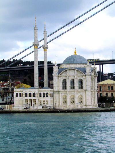 Ortaköy Mosque Bogazturu Ottoman Istanbullovers Historical Building Sky Imperfection Istanbuldayasam That's Me Ortaköy