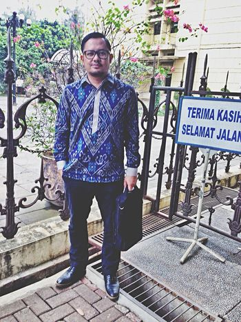 Being a gantleman is a habit Young And Wild Normal Is Boring.  Batik BatikIndonesia My Style The Fashionist - 2015 EyeEm Awards That's Me Boring Day Working Indonesian People's