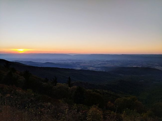 Sunset Landscape Sky Scenics Nature Beauty In Nature No People EyeEm Selects Breathing Space Lost In The Landscape Space Mountain Range