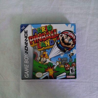 Pase por @jrgamemx y me encontré con esto. Tantos juegos baratos y yo sin dinero. GBA Mario Mariopinball