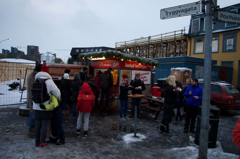 HotDog STAND Reykjavik Iceland