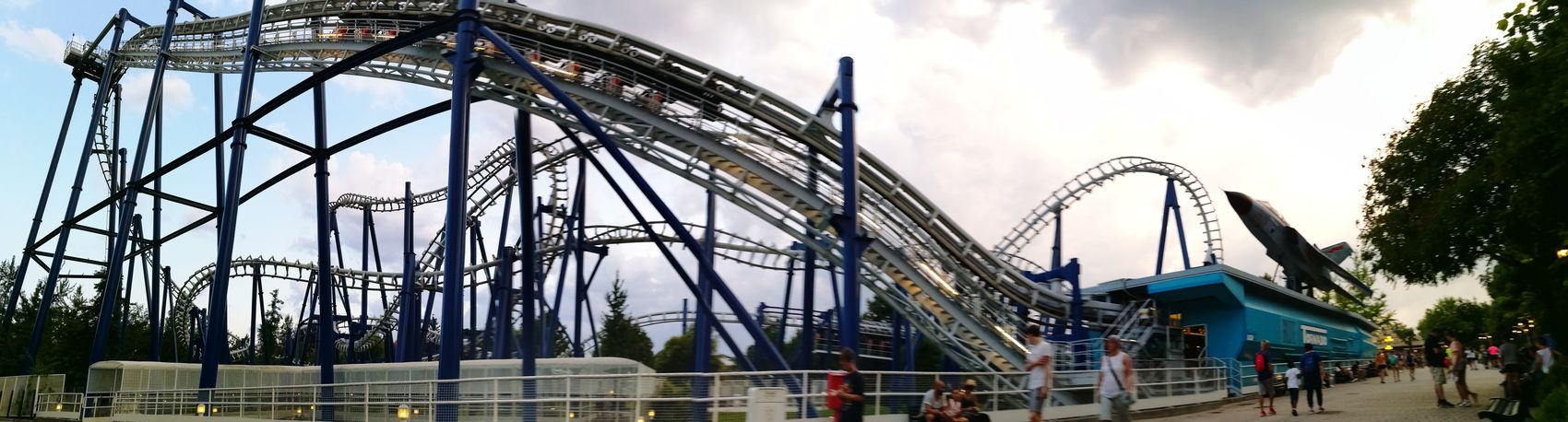 Rollercoaster Gardalandpark Happy Birthday!