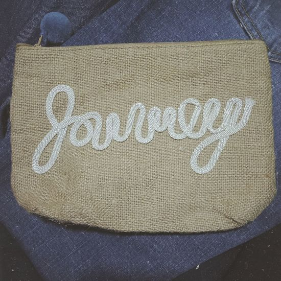 Journey #art #journey Text Fabric First Eyeem Photo
