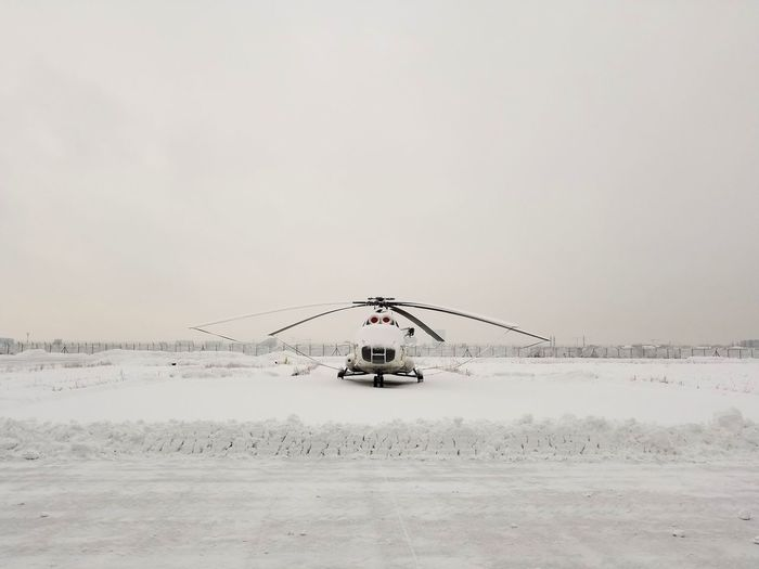 Taken With Phone 👀 Outdoor Winter Helicopter Snow Technology Sky Cloud - Sky Propeller
