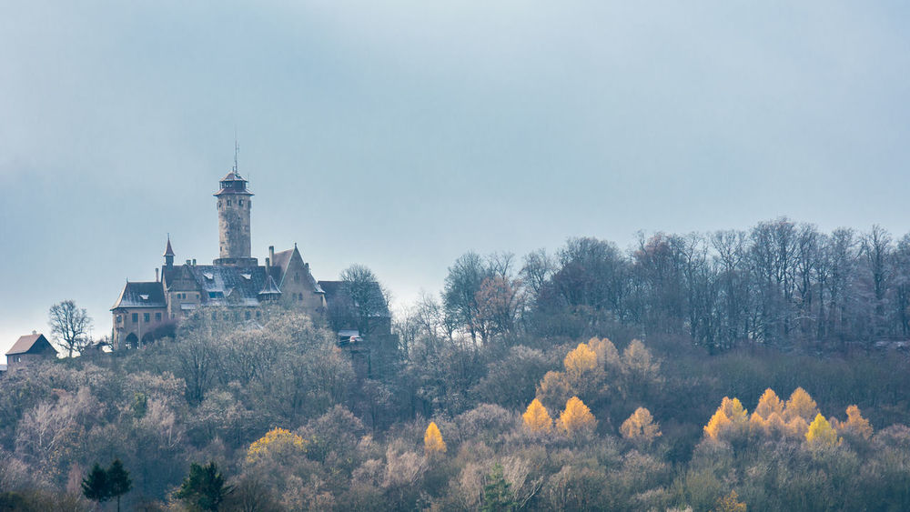 The Altenburg Castle in Bamberg with the first snow of the year. Altenburg Autumn Bamberg  Bavaria Castle Cold Dark Deutschland Europe Germany Medieval Mittelalter Schloss Snow Winter