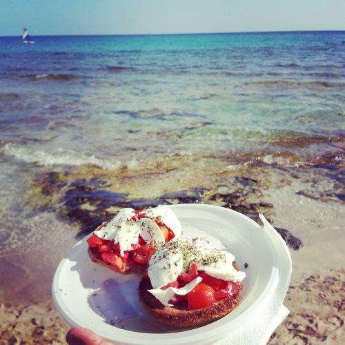 Frisella Mare Puglia Tradizione E Qualità Frozen Food Ice Cream Water Sea Beach Dessert Plate Sky Horizon Over Water Sweet Food